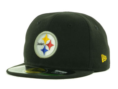 Pittsburgh Steelers New Era NFL Infant My First OnField 59FIFTY Cap