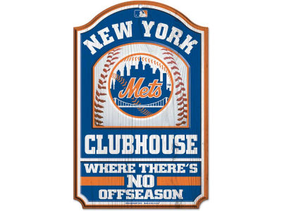New York Mets 11x17 Wood Sign