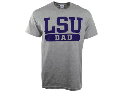 LSU Tigers NCAA Men's Identity Seal T-Shirt