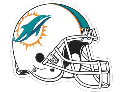 Miami Dolphins 8in Car Magnet