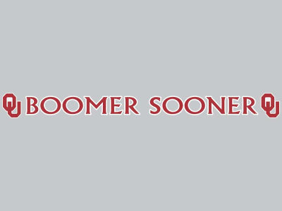 Oklahoma Sooners Long Decal