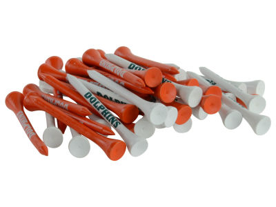 Miami Dolphins 50pk Golf Tees