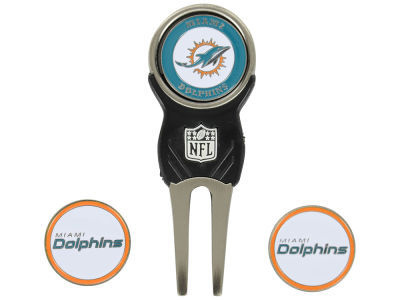 Miami Dolphins Divot Tool and Markers