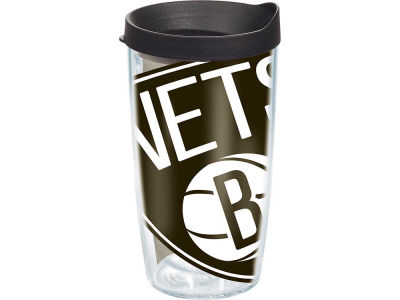 Brooklyn Nets 16oz. Colossal Wrap Tumbler with Lid