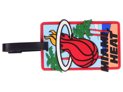 Miami Heat Soft Bag Tag