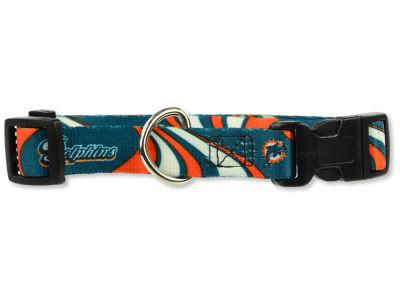 Miami Dolphins Medium Dog Collar