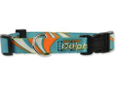 Miami Dolphins Small Dog Collar
