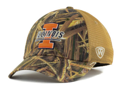 Illinois Fighting Illini Top of the World Blades Mesh One-Fit Cap