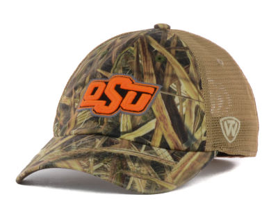 Oklahoma State Cowboys Top of the World Blades Mesh One-Fit Cap