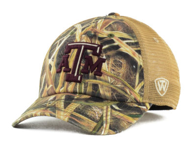 Texas A&M Aggies Top of the World Blades Mesh One-Fit Cap