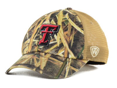 Texas Tech Red Raiders Top of the World Blades Mesh One-Fit Cap