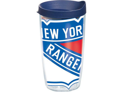 New York Rangers 16oz. Colossal Wrap Tumbler with Lid