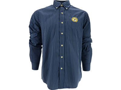 Indiana Pacers NBA Achieve Button Down Woven Shirt