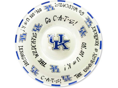 Kentucky Wildcats Chip-N-Dip Plate