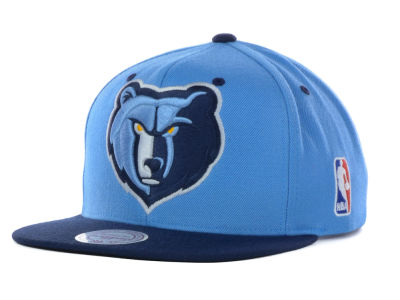 Memphis Grizzlies Mitchell and Ness NBA Under Over Snapback Cap