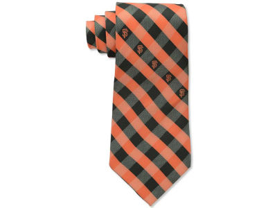 San Francisco Giants Polyester Checked Tie