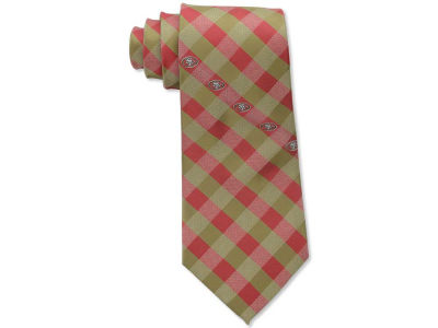 San Francisco 49ers Polyester Checked Tie