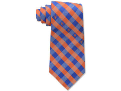 New York Mets Polyester Checked Tie