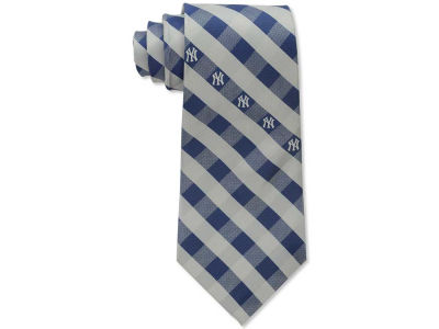 New York Yankees Polyester Checked Tie