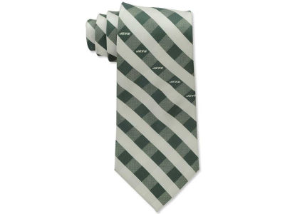 New York Jets Polyester Checked Tie