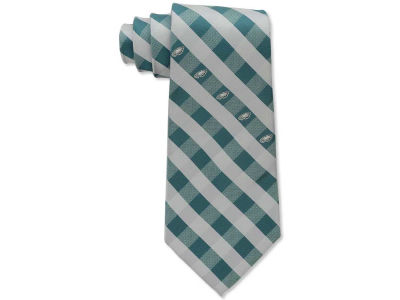Philadelphia Eagles Polyester Checked Tie