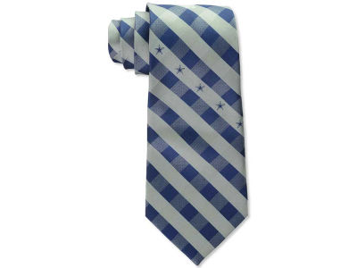 Dallas Cowboys Polyester Checked Tie