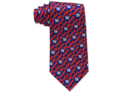 New York Giants Necktie Nexus Print Silk