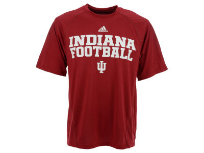 Indiana Hoosiers adidas NCAA Men's On Court Practice Climalite T-Shirt