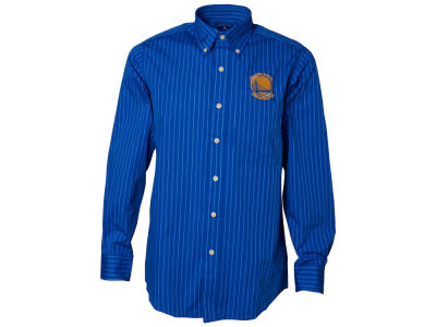 Golden State Warriors NBA Achieve Button Down Woven Shirt