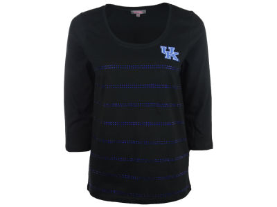 Kentucky Wildcats NCAA Mens Rhinestone 3/4 Shirt