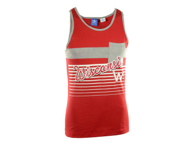 Wisconsin Badgers adidas NCAA Pocket Tank