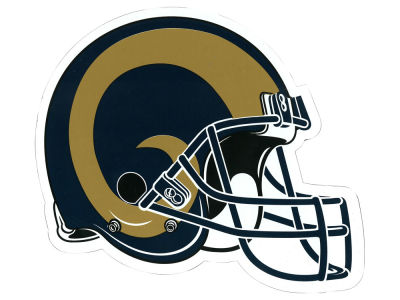 Los Angeles Rams 8in Car Magnet