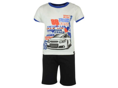 Dale Earnhardt Jr. NASCAR Toddler Tactical Short and Tee Outfit