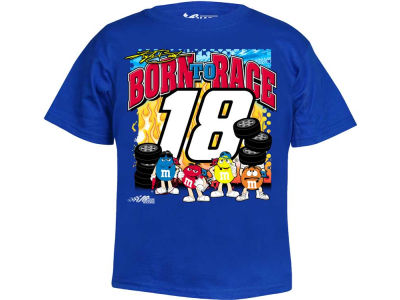 Kyle Busch NASCAR Youth Character Boys T-Shirt