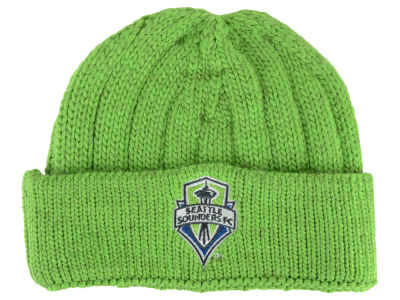 Seattle Sounders FC adidas MLS Cuffed Knit Hat