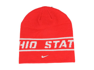Ohio State Buckeyes Player Sideline Knit Hat