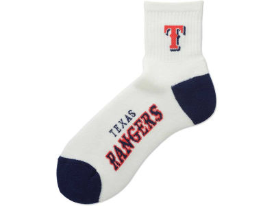 Texas Rangers Ankle White 501 Sock