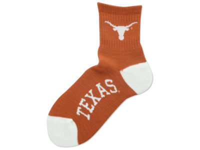 Texas Longhorns Ankle TC 501 Med Sock