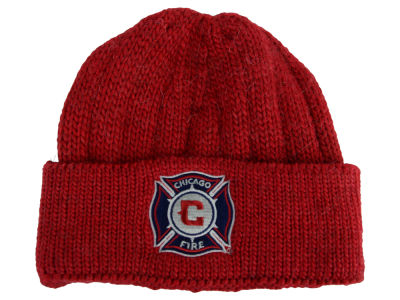 Chicago Fire adidas MLS Cuffed Knit Hat