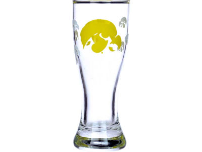 Iowa Hawkeyes Satin Etch Mini Pilsner