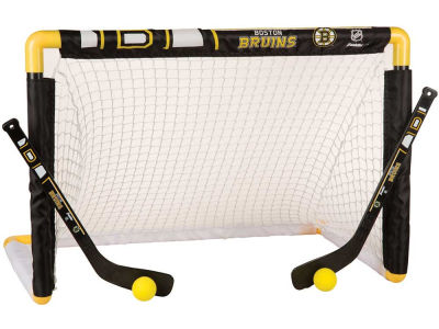 Boston Bruins Mini Goal-Stick-Ball Set