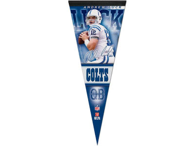 Indianapolis Colts Andrew Luck 12x30 Premium Player Pennant