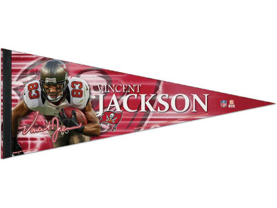 Tampa Bay Buccaneers Vincent Jackson 12x30 Premium Player Pennant