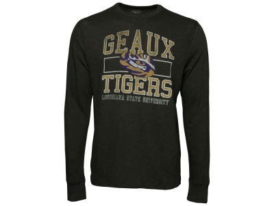 LSU Tigers '47 NCAA Logo Long Sleeve Scrum T-Shirt
