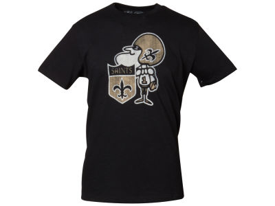 New Orleans Saints '47 NFL Retro Logo Scrum T-Shirt