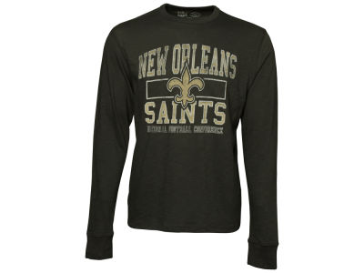 New Orleans Saints '47 NFL Logo Scrum Long Sleeve T-Shirt