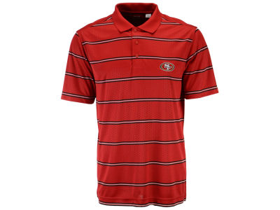 San Francisco 49ers NFL Drytec Embossed Tackle Polo