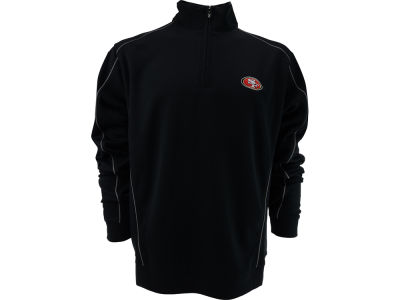 San Francisco 49ers NFL CB DryTec Edge Half Zip Jacket