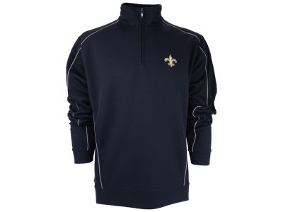 New Orleans Saints NFL CB DryTec Edge Half Zip Jacket