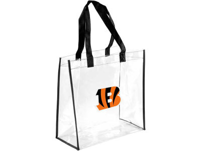 Cincinnati Bengals Clear Reusable Bag